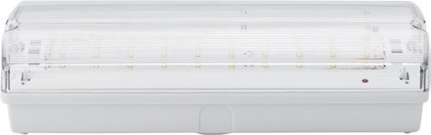 Armadura Saída Emergência em LED 3W (IP65) - WELL