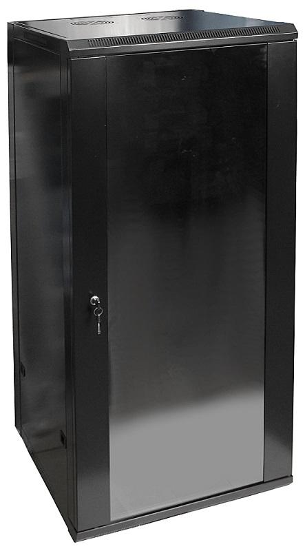 Armário Bastidor p/ Pendurar 19 27U (600mm) com Porta Vidro