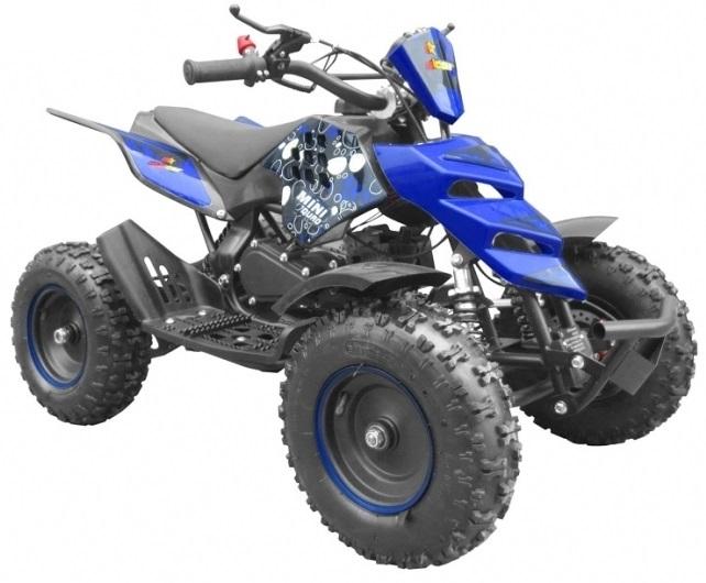 Moto 4 50CC 2T MINIQUAD KF (Azul) - MALCOR