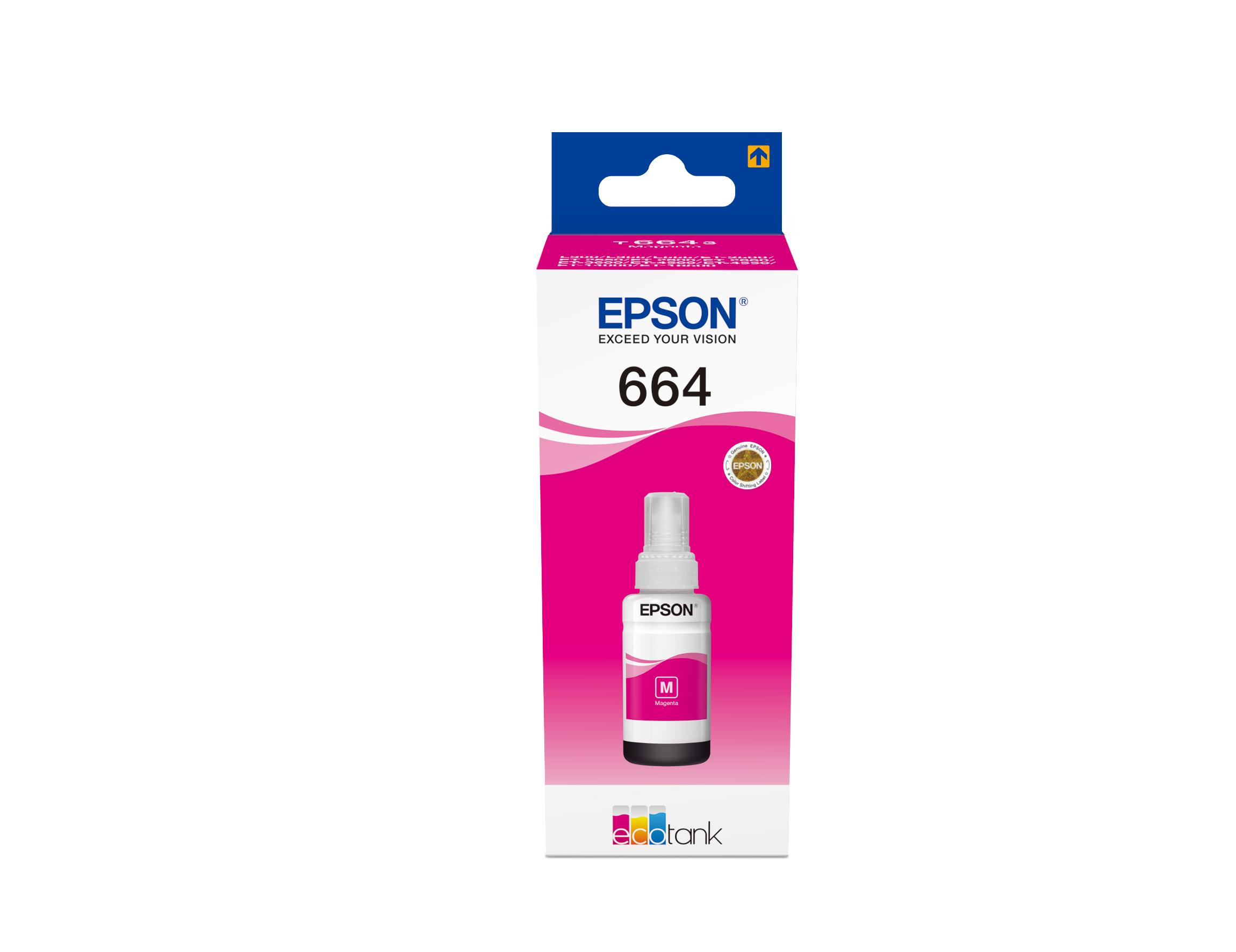 Bottle 664 (Magenta) Ecotank - EPSON