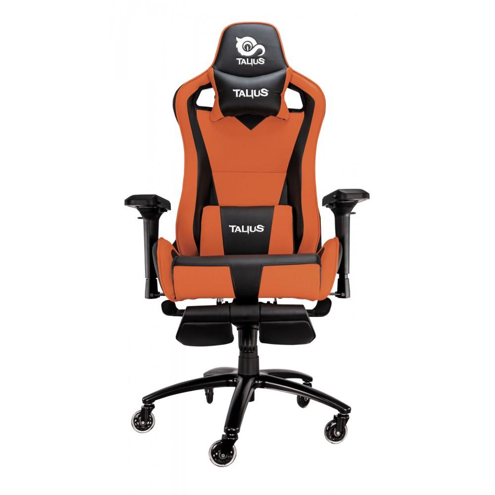 Cadeira Gaming Caiman (Laranja) - TALIUS