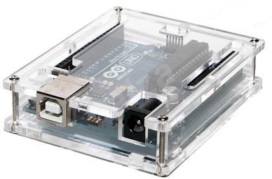 Caixa Transparente p/ Arduino UNO REV3 - Transparente