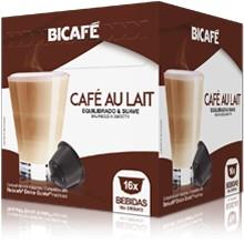 Cápsulas Dolce Gusto Bicafé (16 Unidades) Café au Lait