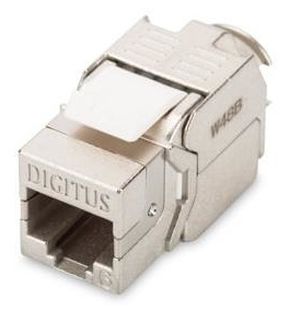 Conetor RJ45 CAT6 250MHz Blindado - DIGITUS