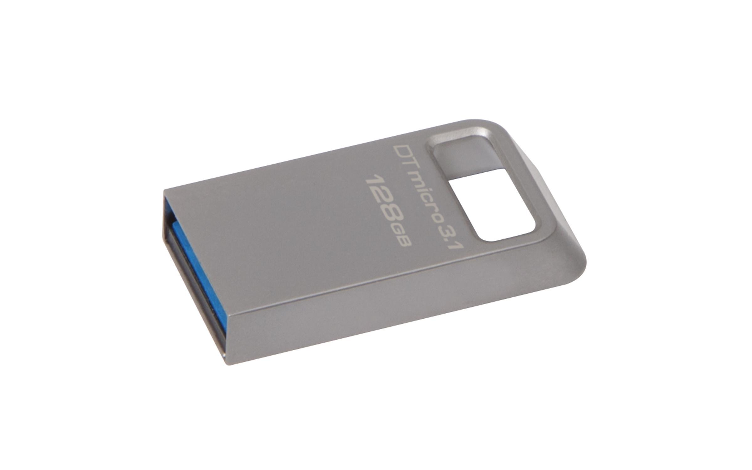 Pen Drive Micro 3.1 USB 3.1 128GB - Kingston DataTraveler DTMC3
