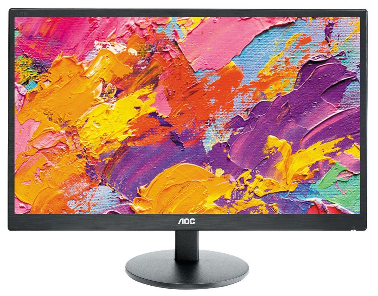 Monitor LED 23.6 Full HD (Preto Fosco) - AOC
