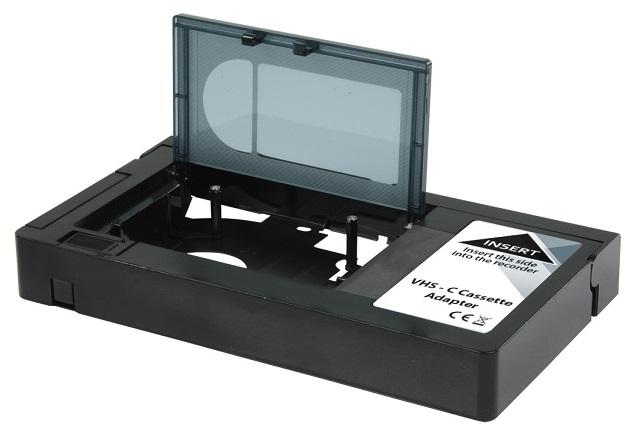 Cassete Adaptadora VHS/VHS-C (Motorizada) - NEDIS