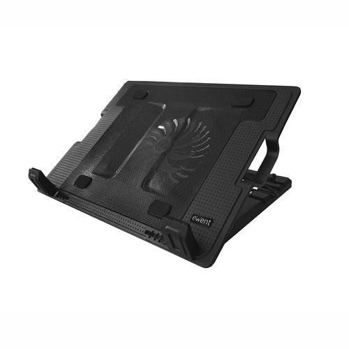 Base Cooler p/ Portátil 17 1000RPM (Preto) - EWENT