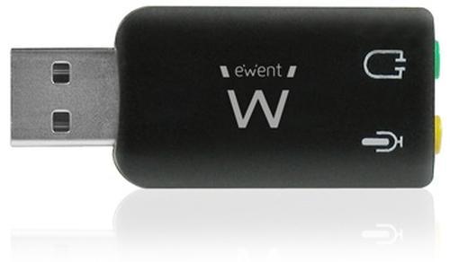 Placa de Som Externa 5.1 USB - EWENT