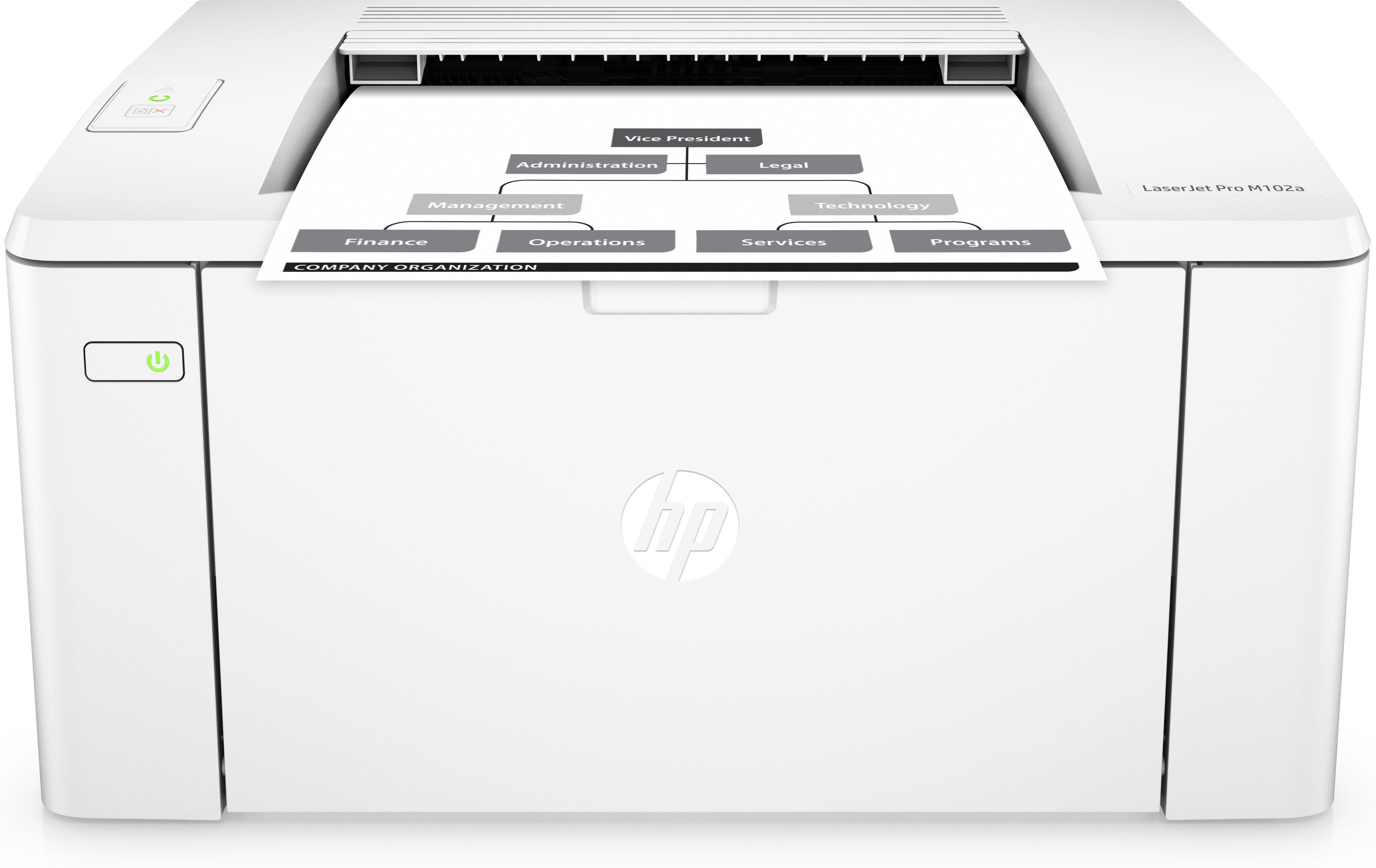 Impressora Laser Mono - HP LASERJET PRO M102A