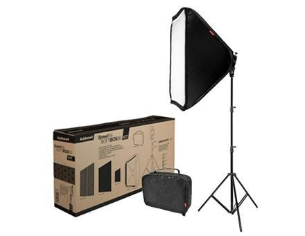Kit Speedlight softbox  Softbox 80x80cm + Stand - HAHNEL
