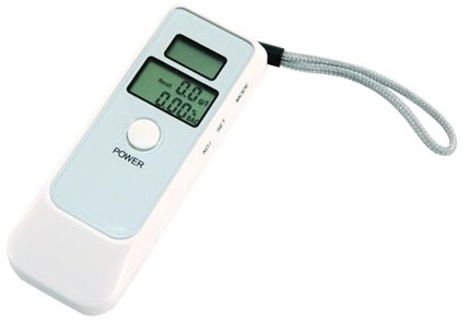 Alcoolímetro Digital c/ LCD com Relógio (Teste ao Álcool)