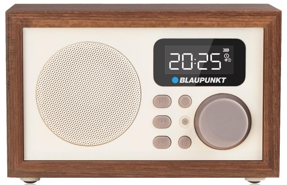 Rádio Retro FM/MP3/USB/SD 3W RMS - BLAUPUNKT