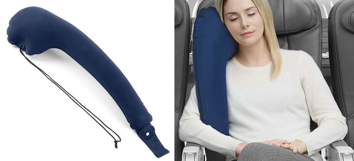 Almofada de Viagem c/ Aplicação p/ Assentos (94 x 24 cm) - INNOVAGOODS