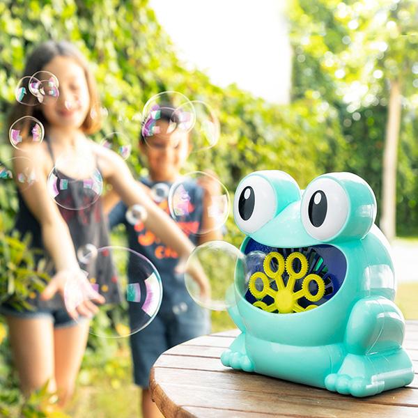 Máquina de Fazer Bolhas de Sabão Froggy - INNOVAGOODS