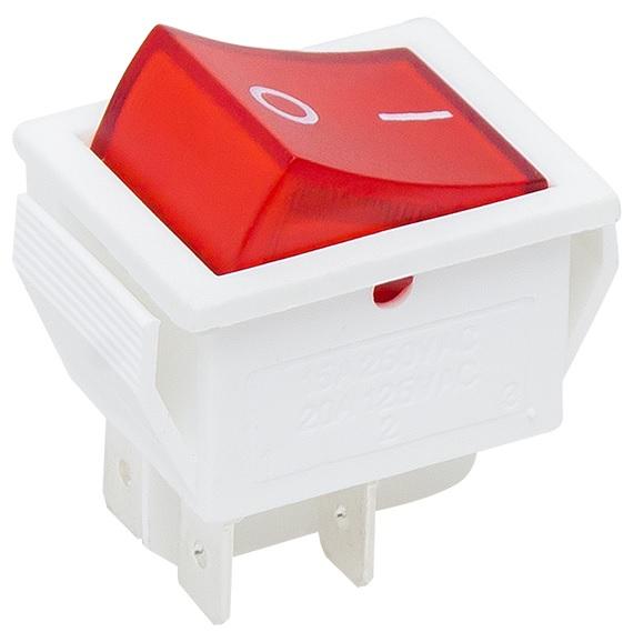 Interruptor 16A 250V Luminoso