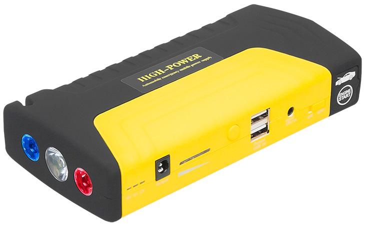 Arrancador de Baterias Auto (12 Amp.) c/ 2 USB, LEDs Emergência, FIcha Isqueiro, ... - BLOW