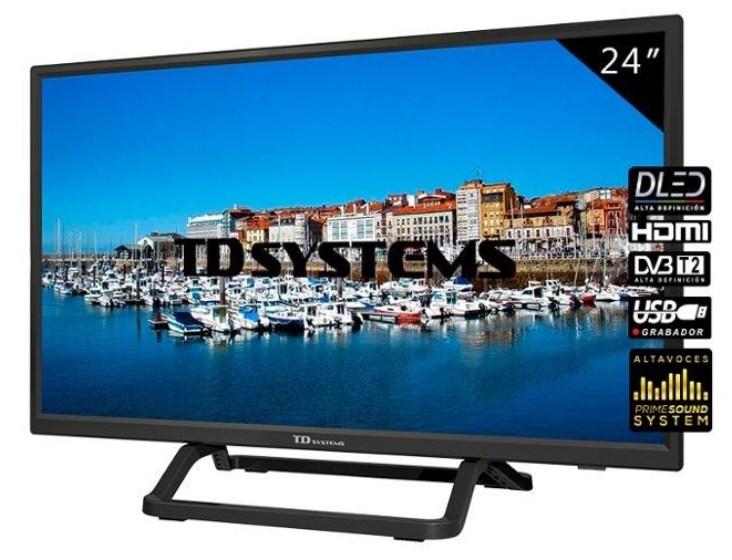 TV DLED HD Ready 24 K24DLX10H - TD SYSTEMS