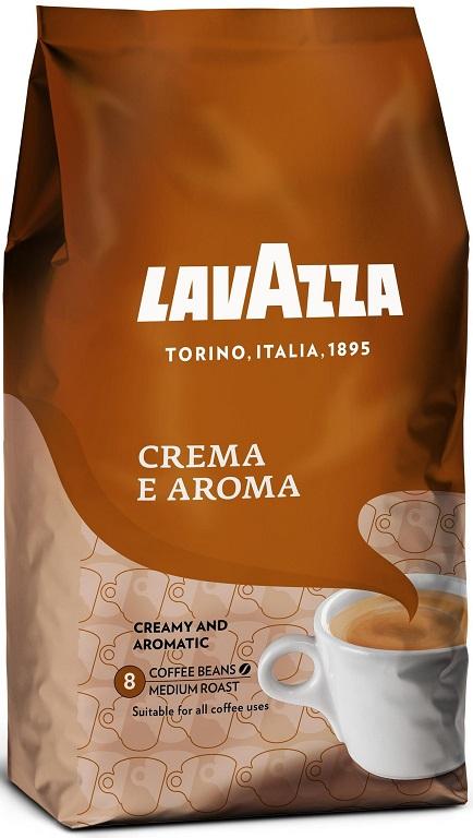 Café em Grão Crema e Aroma 1kg - LAVAZZA
