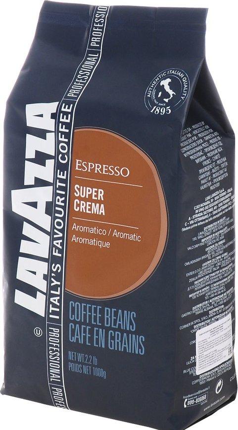 Café em Grão Super Crema 1Kg - LAVAZZA