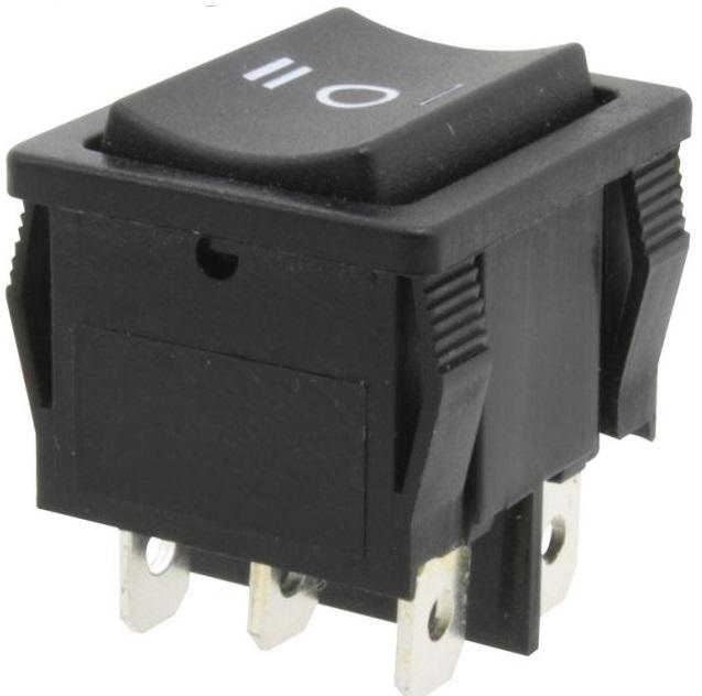 Interruptor Bipolar ON-OFF-ON 6A / 250VAC