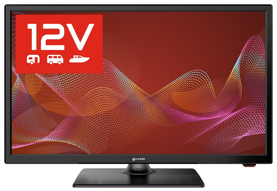 TV LED 24 HD USB PVR c/ Sintonizador TDT T2 (12/220V) - GRUNKEL