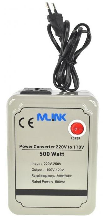 Conversor 220V ->110V 500W - MLINK
