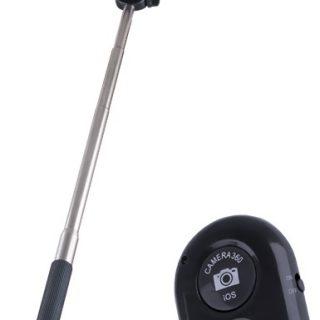 Haste Telescópica Bluetooth com Comando p/ Selfies (SELFIE STICK) - ESPERANZA