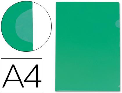 Bolsa Dossier Polipropileno Transparente, Din A4 Verde