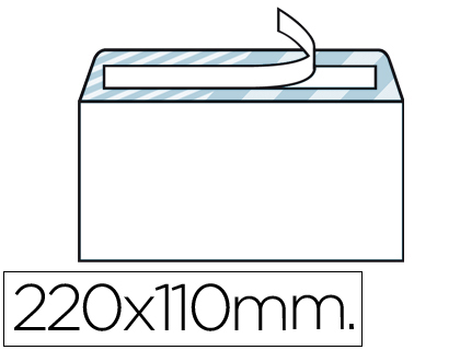 Envelope Americano 110X220mm Sem Janela (500 Unidades)