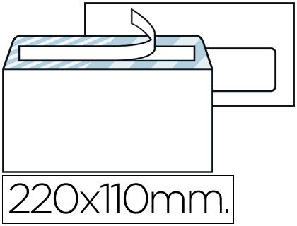 Envelope Americano 110X220mm c/ Janela Direita (500 Unidades)