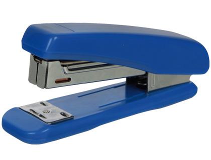 Agrafador Q-Connect de Plastico Azul Capacidadee 25 Folhas