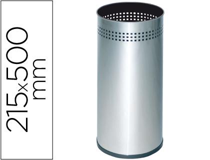 Porta Guarda Chuva Sie Metalico 314 Perfurado Prateado 50X21,5 cm