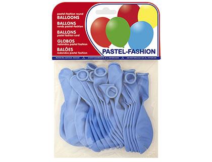 Balões Pastel Azul Celeste (20 Unidades)