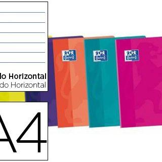 Caderno Agrafado Oxford A4 48F Pautado Cores Sortida S Touch