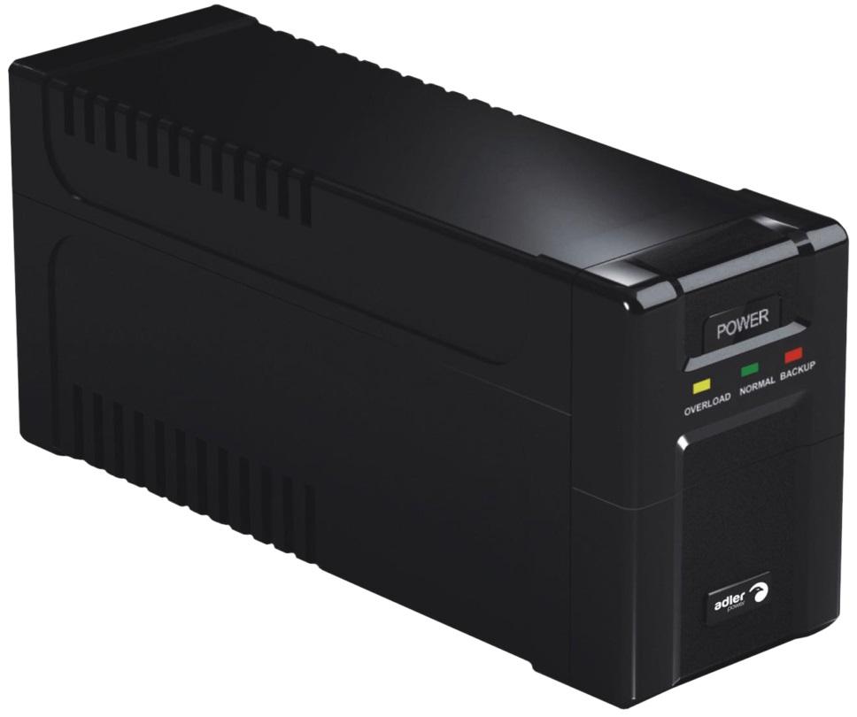 UPS 360W / 600VA (Preto) - ADLER POWER