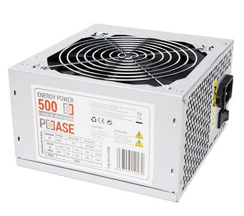 Fonte de Alimentação 500W (Energy Power) - PC CASE