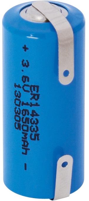 Pilha Litio Li-SOCl2 (ER14335) 3,6V 1650mAh c/ Patilhas - NIMO