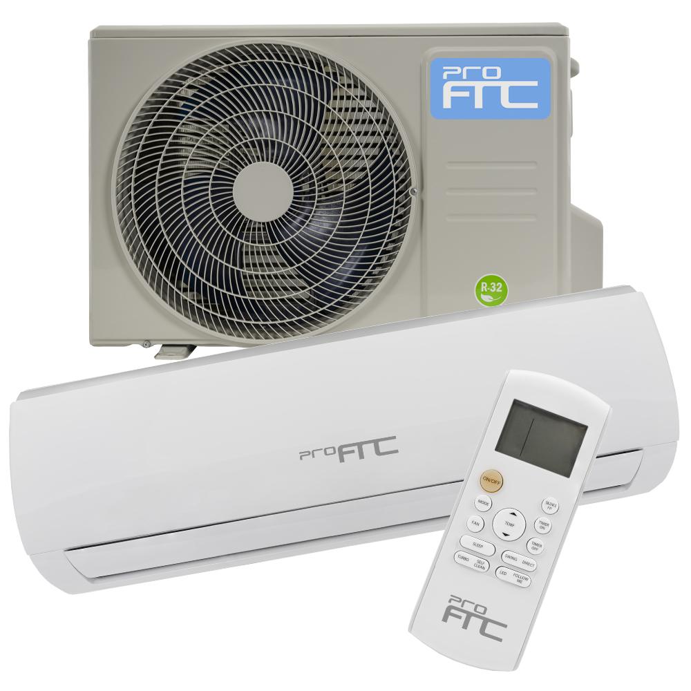 Ar Condicionado 12000 BTU Inverter A+++ R32 (Interior/Exterior) - ProFTC