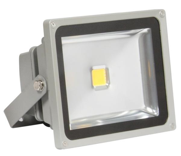 Projector LED IP65 220VAC Branco F. 6000K 20W