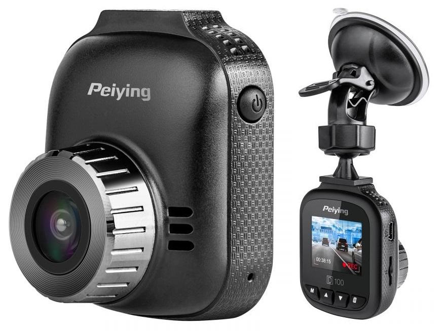 Camara Gravação Full HD a Cores p/ Uso Automóvel (D100) - PEIYING