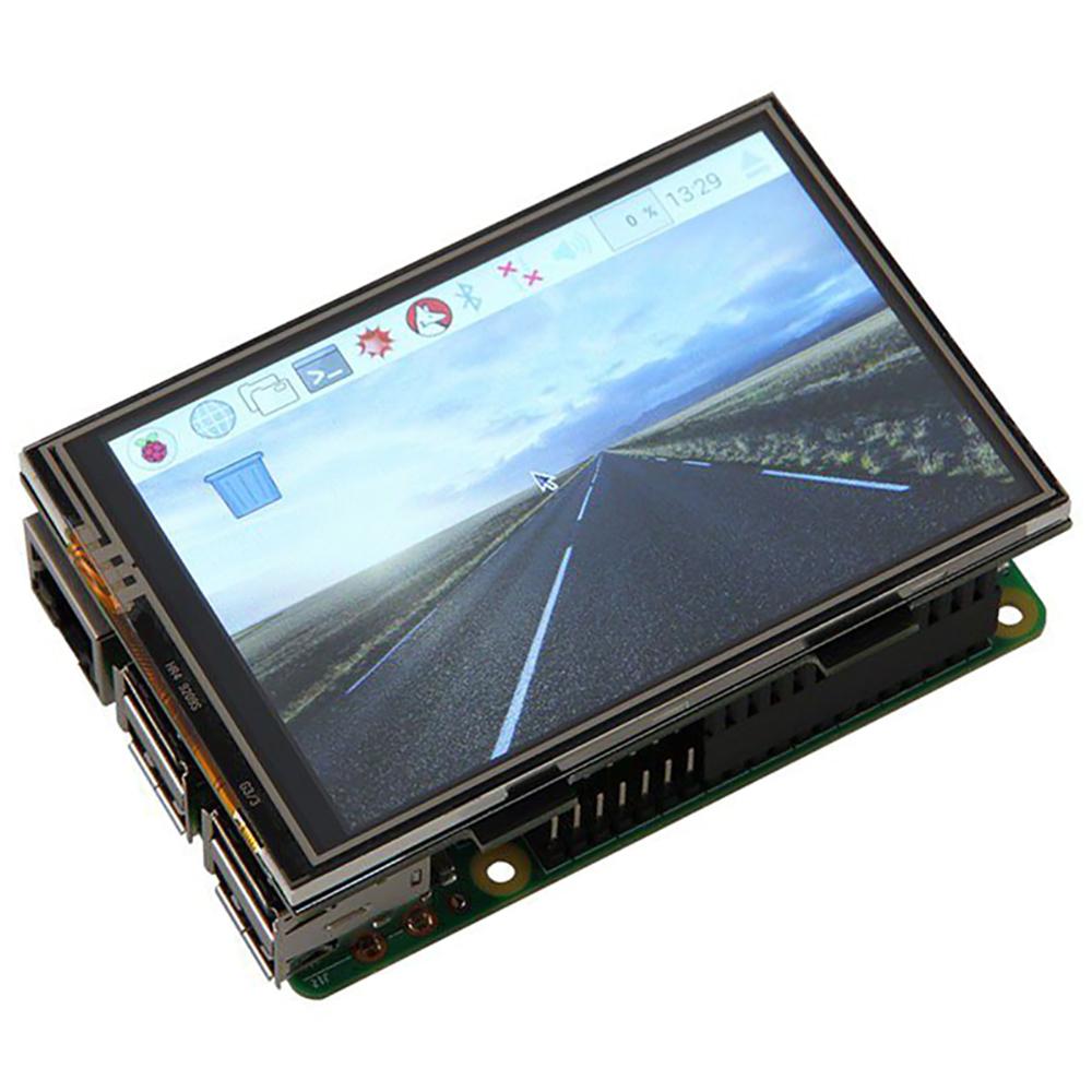 Display Táctil LCD 3.5 480x320P Touchscreen p/ Raspberry Pi - JOY-IT