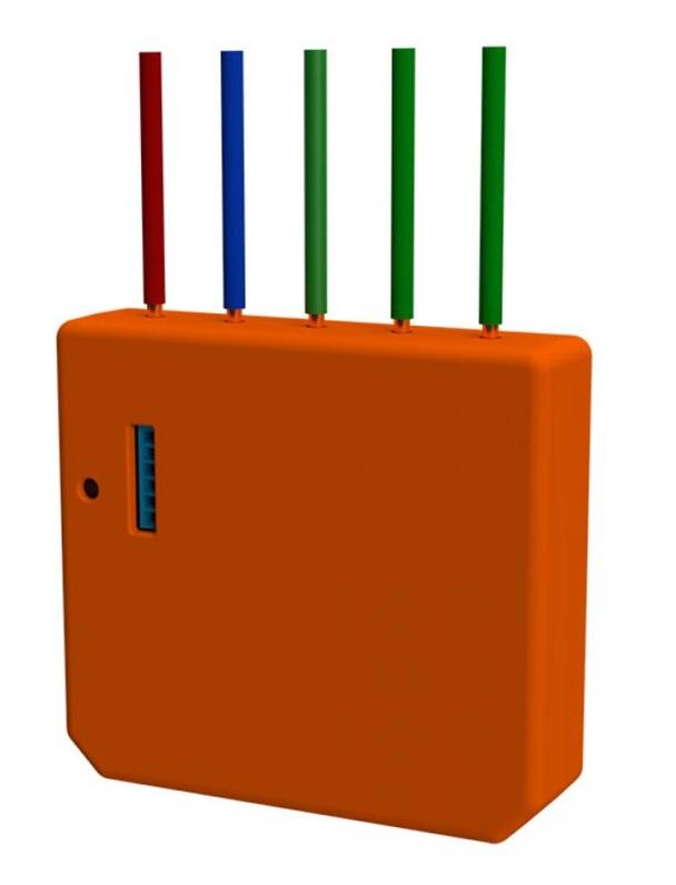 Módulo de Activação de Cenários p/ Automação Wi-Fi - Shelly i3
