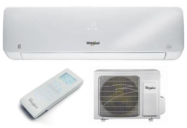 Ar Condicionado 12000 BTU Inverter 6TH Sense A++ Wi-Fi (Interior/Exterior) - WHIRLPOOL