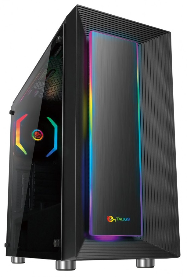 Caixa Gaming ATX Auriga  Vidro Temperado USB 3.0 (Preto) - TALIUS