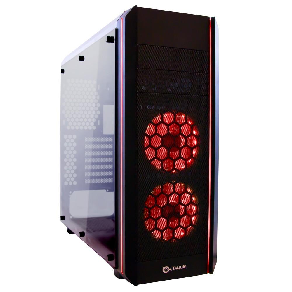Caixa Gaming ATX Daemon RGB USB 3.0 (Preto) - TALIUS