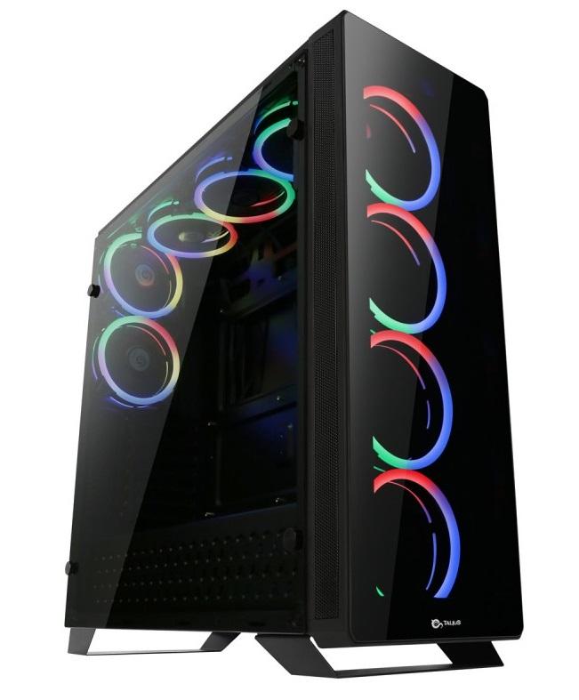 Caixa Gaming ATX Leviathan RGB USB 3.0 (Preto) - TALIUS