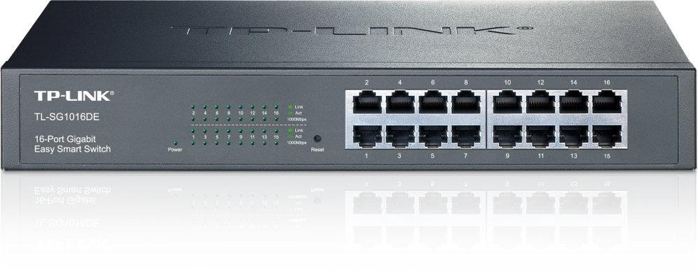 Switch 16 Portas Gigabit Rack - TP-LINK