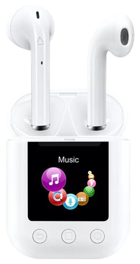 Auriculares / MP4 1.3 Bluetooth (Branco) - DENVER