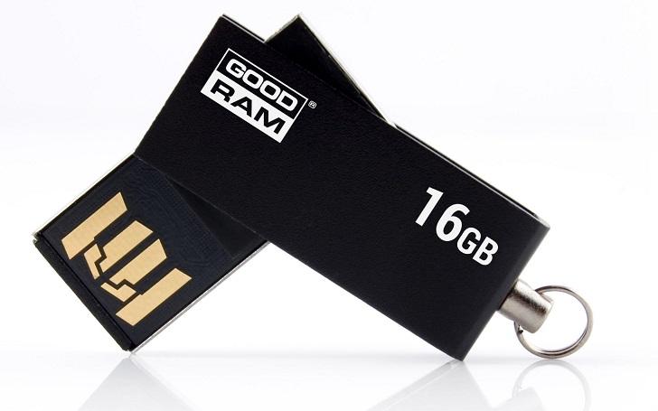Pen Drive USB 2.0 16GB UCU2 (Preto) - GOODRAM